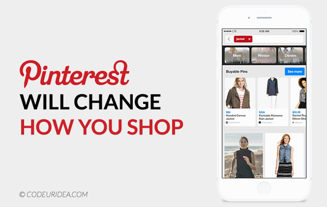 Pinterest ecommerce shopping
