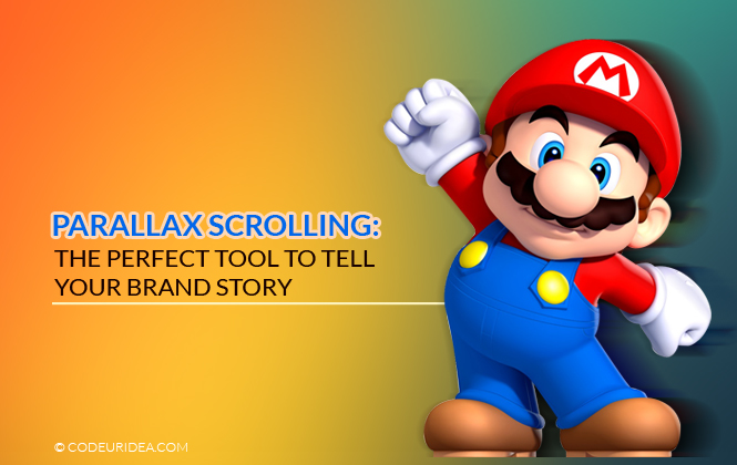 parallax scrolling design trend