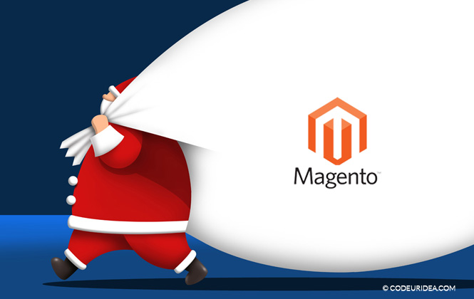 magento store christmas extension